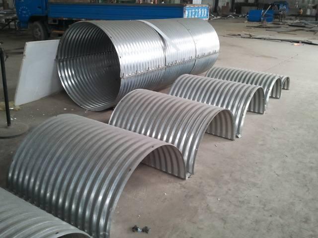 铁路钢波纹管